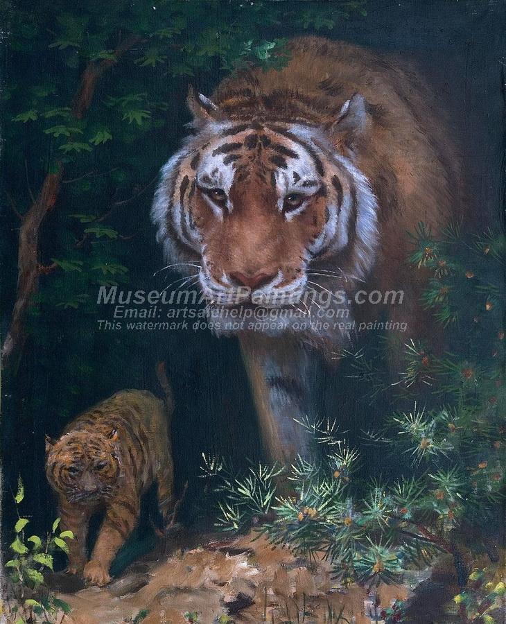 Tiger Oil Paintings 023