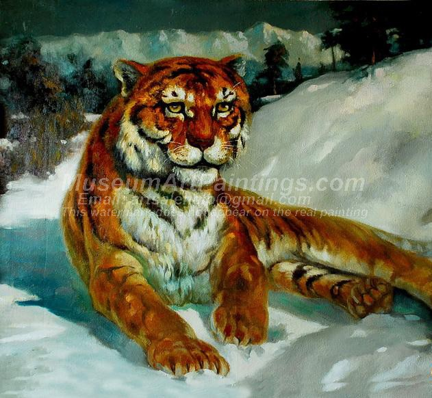 Tiger Oil Paintings 030
