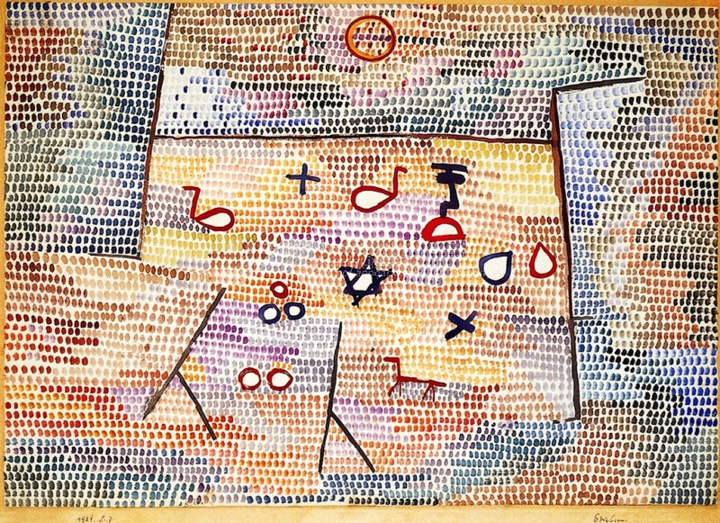 Toy by Paul Klee