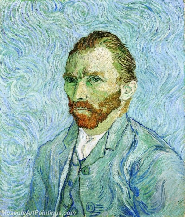 Van Gogh Self Portrait Painting