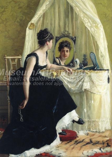 Vanity by Gustave Leonard de Jonghe
