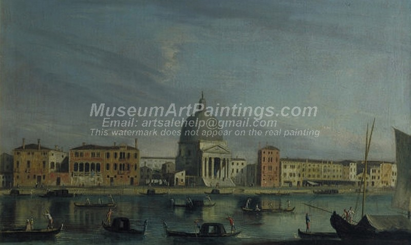 Venice Paintings Venice Simeone Piccolo on the Grand Canal