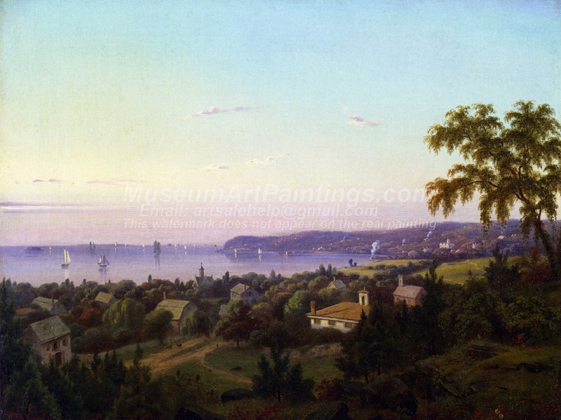 View of Irvington Looking toward Tarrytown New York
