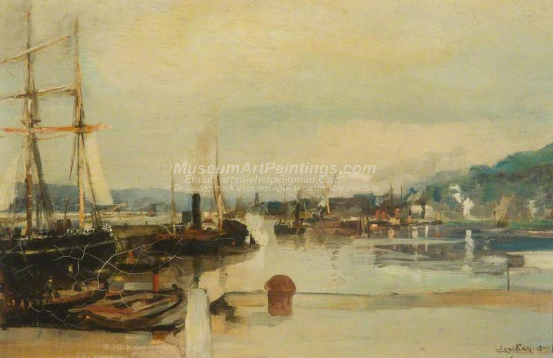 View on the Clyde by James Kay