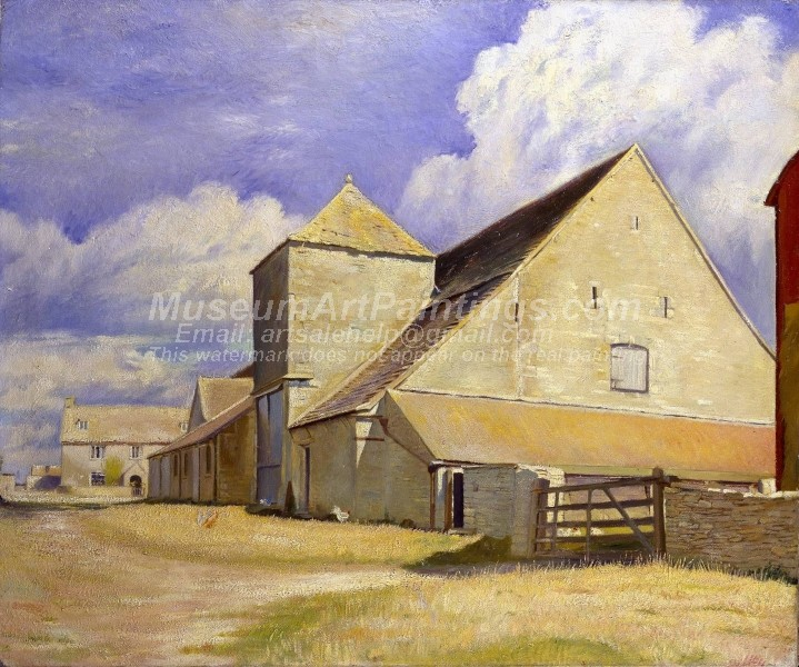 Village Paintings Barn at Cherington Gloucestershire