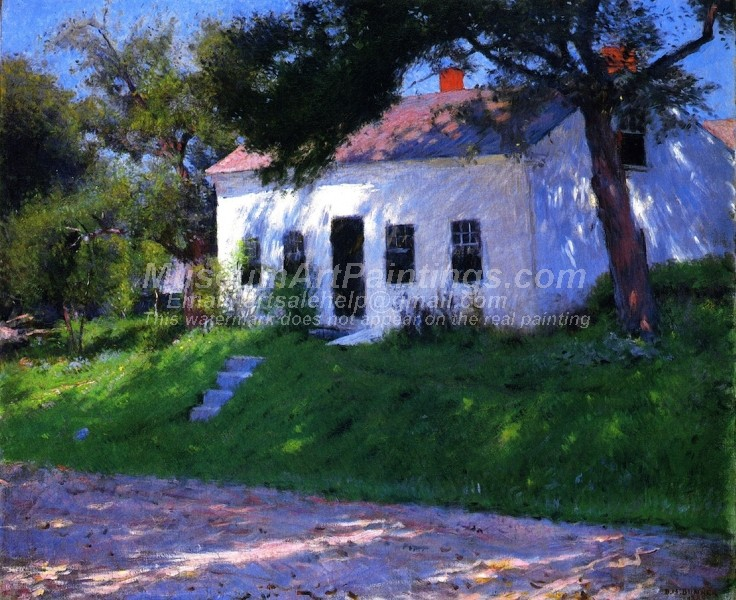 Village Paintings Roadside Cottage