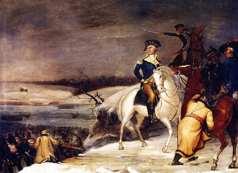 Washington at the Delaware 1 by Edward Hicks