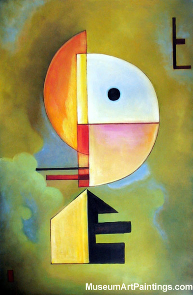 Wassily Kandinsky Painting 014 Upwards