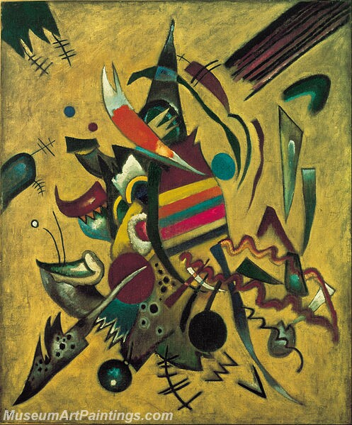 Wassily Kandinsky Points Painting