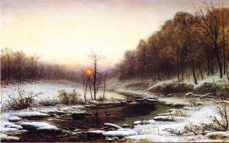 Winter Morning by George Hetzel
