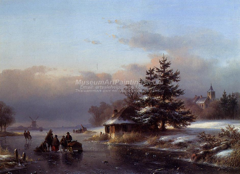 Winter by Lodewijk Johannes Kleijn