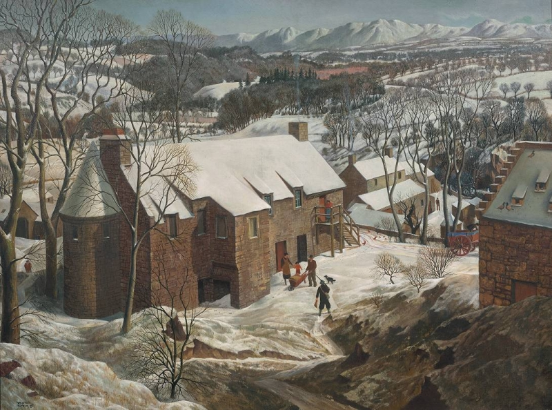 Winter in Angus by J McIntosh Patrick