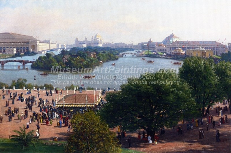 Worlds Columbian Exposition Chicago Painting