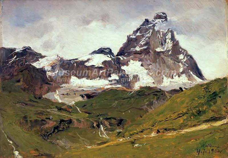 alpi Cervino by Lorenzo Delleani